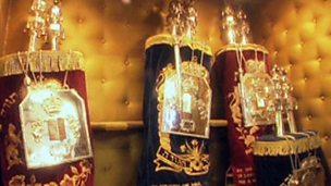 Celebrating Shabbat at the synagogue