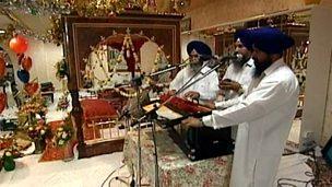Sikh celebration and worship