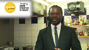 Image for Levi Roots talks about 'Pounds for Pudsey'