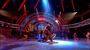 Image for Vincent Simone and Flavia Cacace perform some of their Midnight Tango