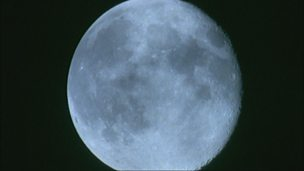 What does the Moon look like and why?