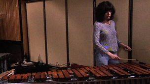 Exploring instruments - wooden percussion