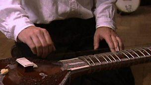 Introducing instruments - kora and sitar