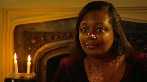 Children ask Malorie Blackman about writing a mystery