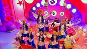 Bhangra - an Indian folk dance
