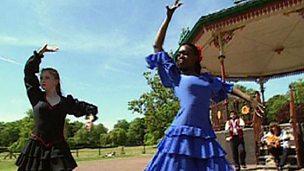 Flamenco - a Spanish dance