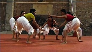 Kabbadi and Indian dance choreography