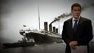 The sinking of the Titanic - breaking news report