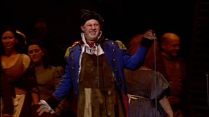 Matt Lucas in the stage musical of 'Les Misérables'