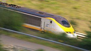 High-speed rail travel