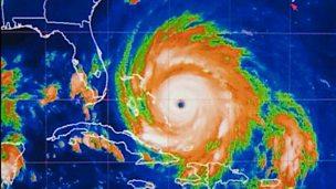 Hurricane Floyd misses Florida but comes ashore in North Carolina - 1999