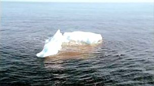 What happened to the iceberg which sank the Titanic?
