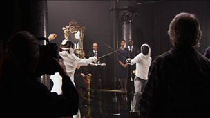 'Hamlet' - the fencing match