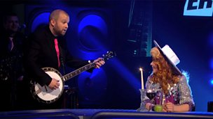 Image for Guest Paloma Faith is serenaded by the Horne Section