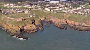 Erosional coastlines