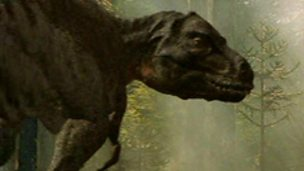Tyrannosaurus Rex animated in CAD for 'Walking with Dinosaurs'