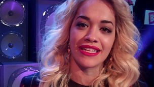 Image for Backstage Buzzcocks: Guest Rita Ora talks to us after the show
