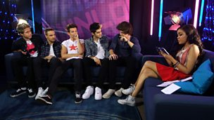 Dionne with One Direction