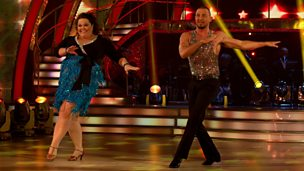 Image for Lisa Riley on her dance partner Robin Windsor