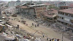 7.9 earthquake at Bhuj, 21 January 2001