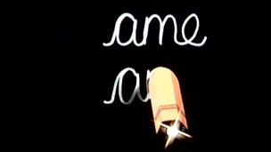 Magic Pencil and 'ame' words