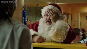 Image for Father Christmas has no mobile phone credit!