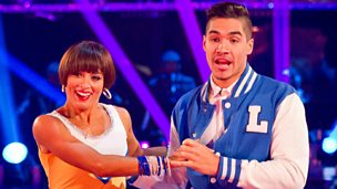 Image for Louis and Flavia dance the Jive to 'Why Do Fools Fall In Love'