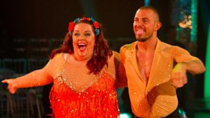 Image for Lisa and Robin dance the Salsa to 'Best Years of Our Lives'