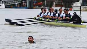"Image for Boat race protestor: ""I've no regrets and would do it again."""