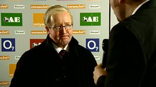 Image for Alex Ferguson, post match interview