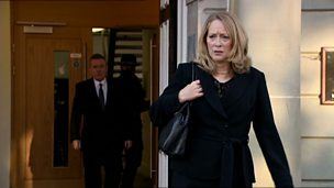 Image for Raymond rails at Eileen after her solicitor grills Stevie on his chequered past