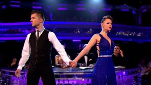 Image for Kimberley and Pasha dance the Tango to 'When Doves Cry'