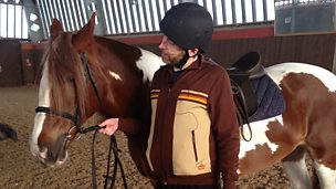 Image for Dave Gorman: horse riding