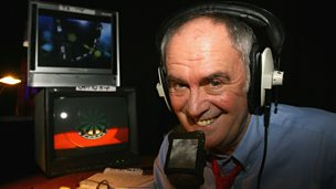 "Image for Sid Waddell darts tribute was ""emotional"" says son"