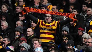 Image for Bradford fan's trip from California for cup semi