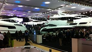 Image for Sunseeker at the London Boat Show