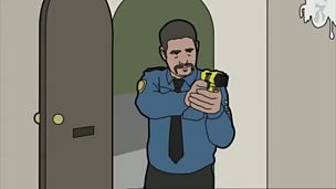 Image for Fools News: Taser Cop