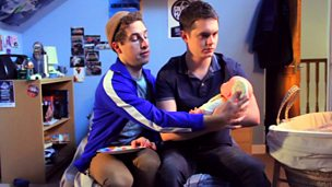 Image for WEB EXCLUSIVER: Caring for Baby with Mike & Jamie