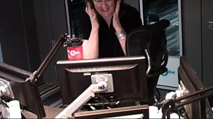 Image for Shelagh Fogarty screams at a mouse in the studio