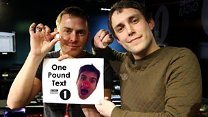 Image for One Pound Text - Chris's song for Greg