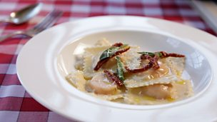 Image for Butternut squash ravioli