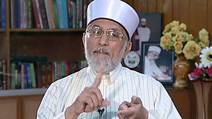 Image for Tahir Ul-Qadri  : 'I am against military law'