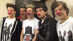 Image for One Direction on Comic Relief trip to Ghana