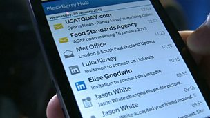 Image for Blackberry goes into battle