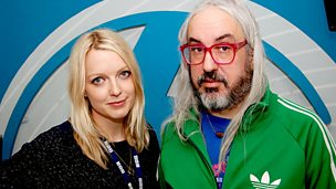 Image for J Mascis of Dinousaur Jr joins Lauren Laverne in the studio