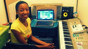 Image for Toddla catches up with sensation Wonda Gurl who is producing beats for Ryan Leslie.