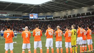 Image for Blackpool pay tribute to 5 live's David Oates