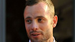 Image for Oscar Pistorius held after fatal shooting