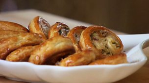 Image for Sage and parmesan palmiers