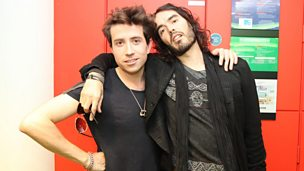 Image for Russell Brand Chats to Grimmy